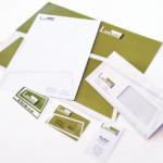 Identidad corporativa y papelería para Lankabi