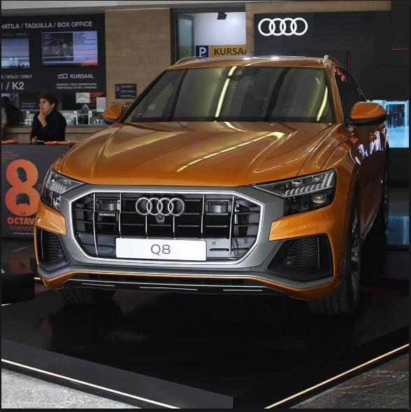 Audi Q8 en el Zinemaldi
