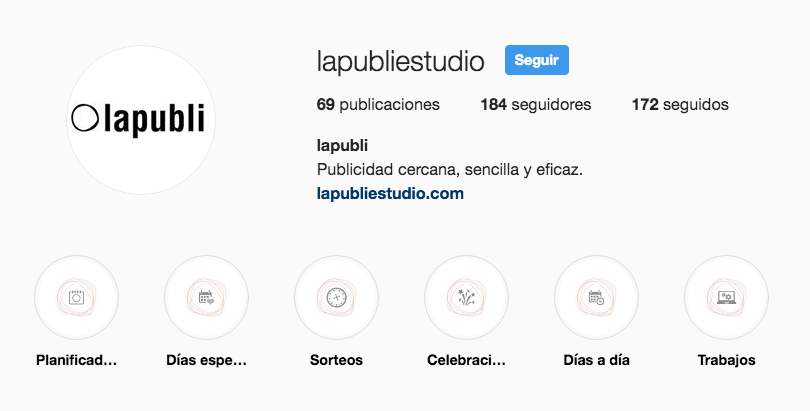 Portadas personalizadas para Instagram Stories