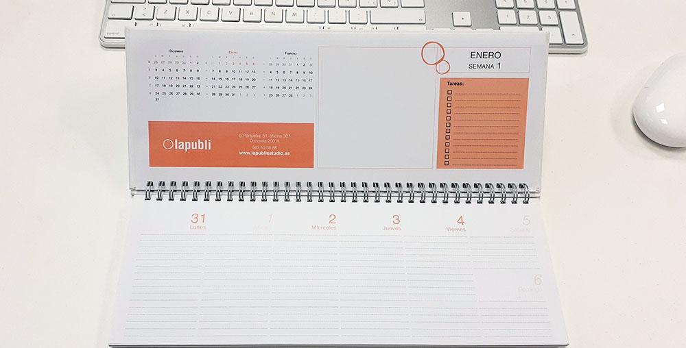 Planificador - Agendas y calendarios personalizados