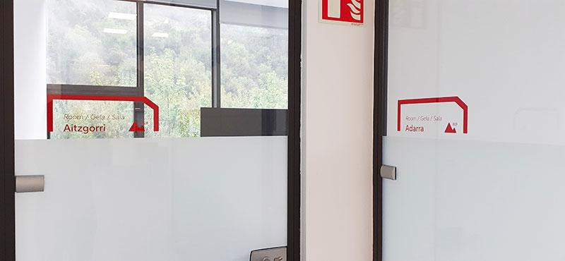 Señalización Salas de reunión