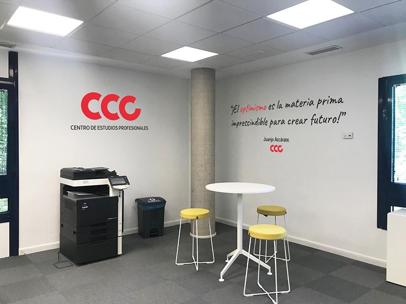 Vinilo optimismo CCC