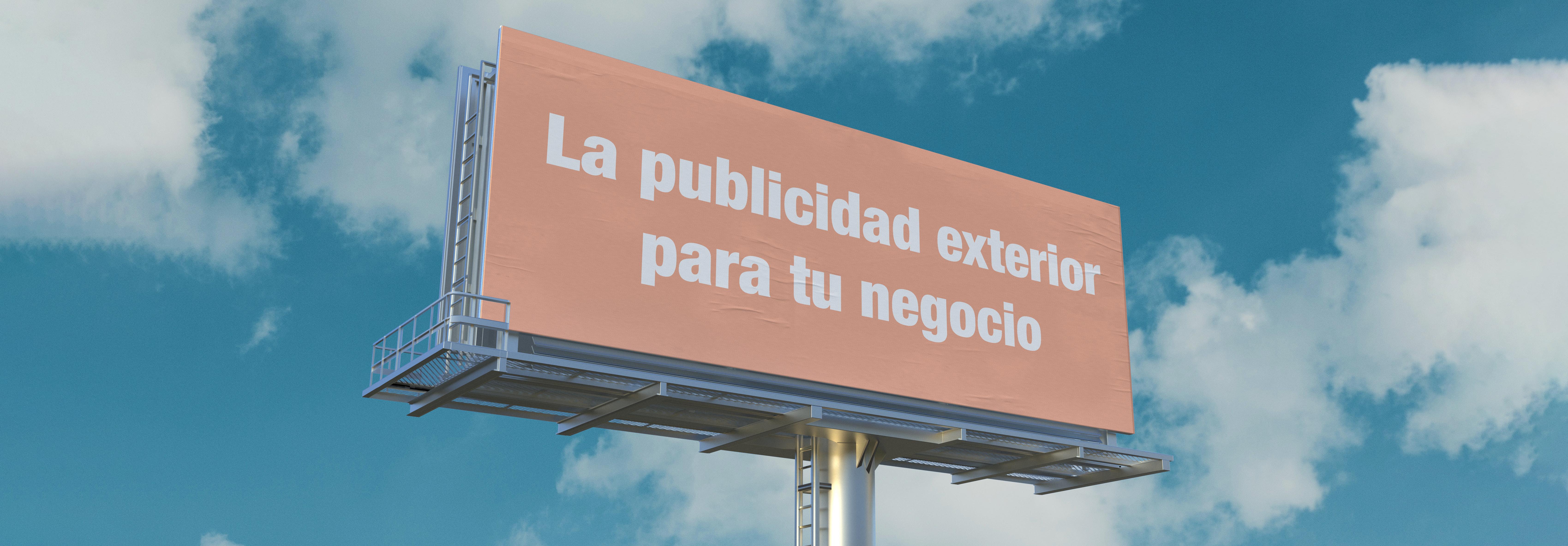 La publicidad exterior para tu negocio